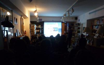 Meta Xapa a la Llibreria Cafè Context de Girona
