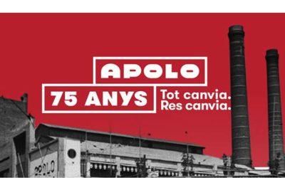 Arrenca l'aniversari de la Sala Apolo